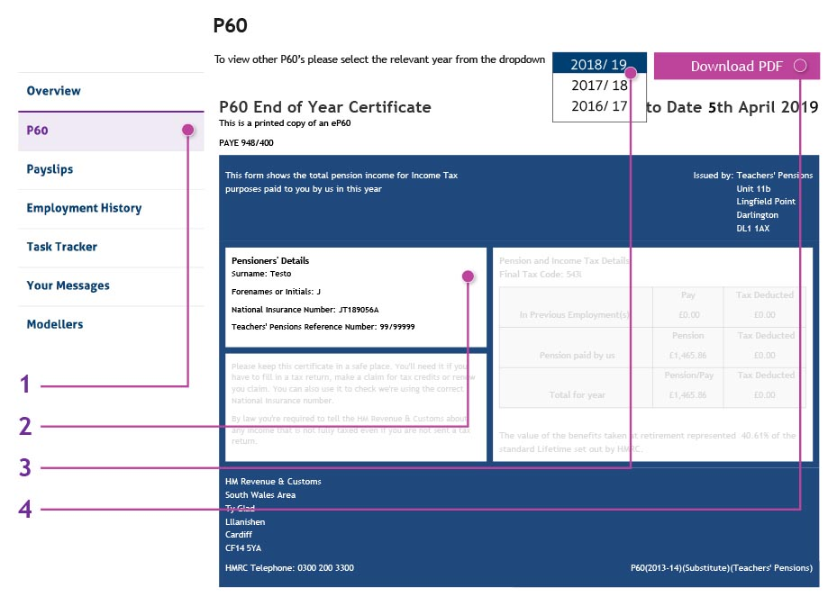 Copy Of P60 >> P60 Interactive Guide
