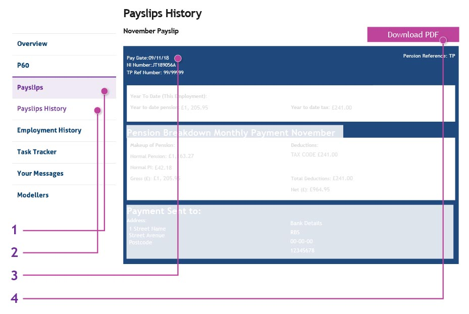Your Online Payslip  Download Payslips